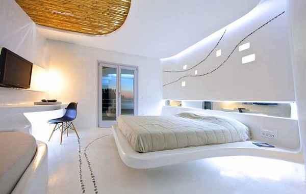 Inspirasi Gaya Desain Plafon Kamar Tidur Nuansa Futuristik
