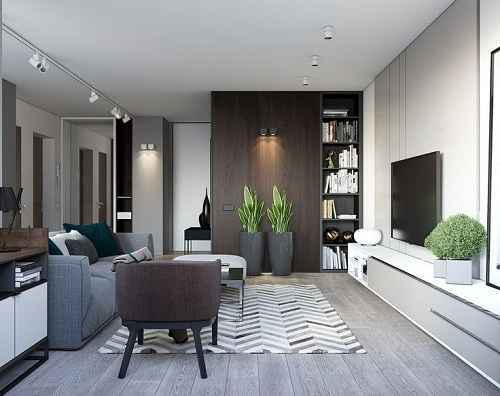 Inspirasi Gaya Ruang Tamu Minimalis Ala Apartemen yang Modis