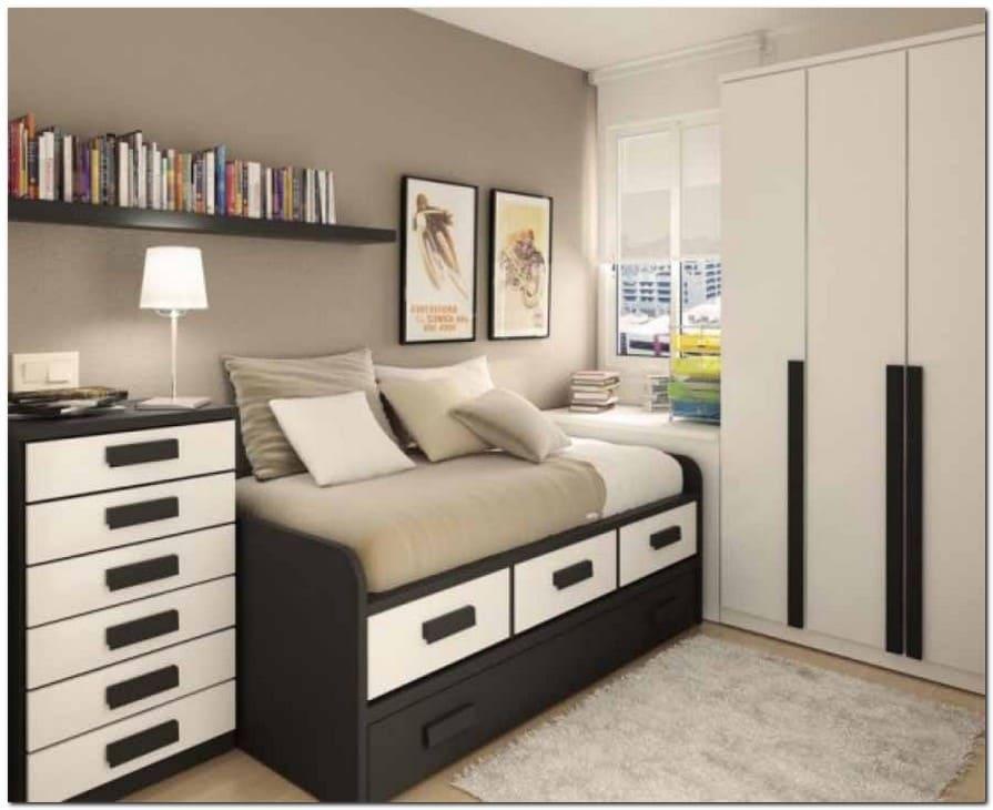 15 Desain Kamar Tidur Minimalis Ukuran 3x4 Yang Cocok Untuk