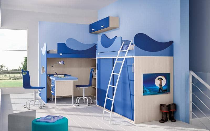 desain kamar tidur minimalis ukuran 3x4