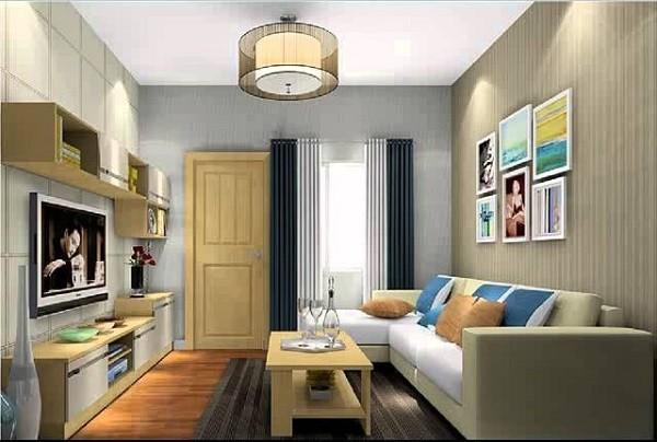 desain dan model ruang tamu minimalis sederhana ukuran 3x3