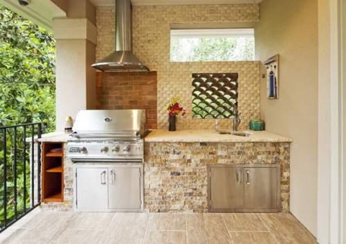 21 Desain Dapur Terbuka Di Belakang Rumah Yang Patut Anda Coba