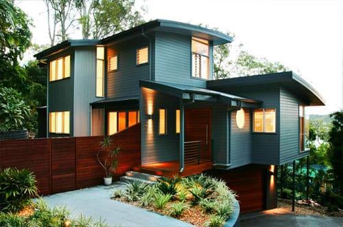 desain rumah unik minimalis