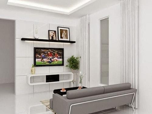desain interior ruang keluarga minimalis