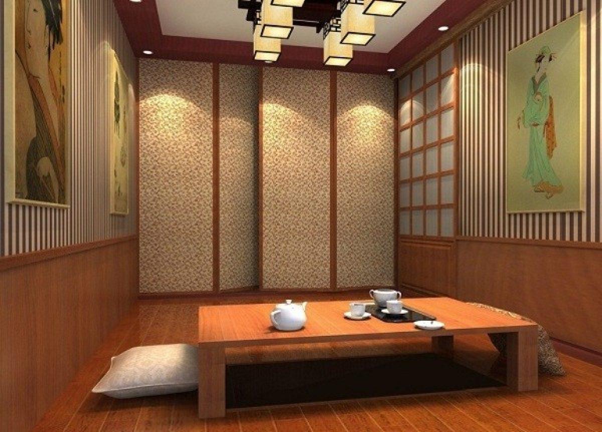 4 Desain Ruang Tamu Sempit Lesehan Ala Jepang
