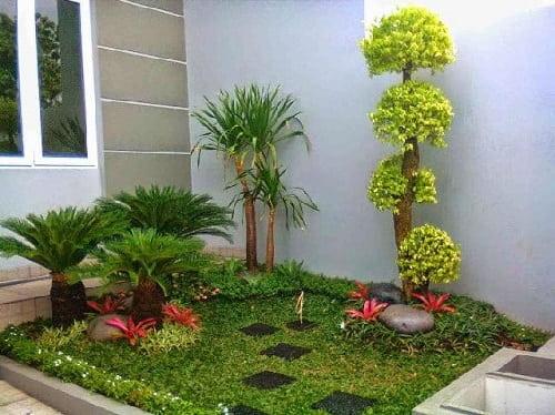 15 Desain Taman Belakang Rumah Minimalis Untuk Lahan Sempit