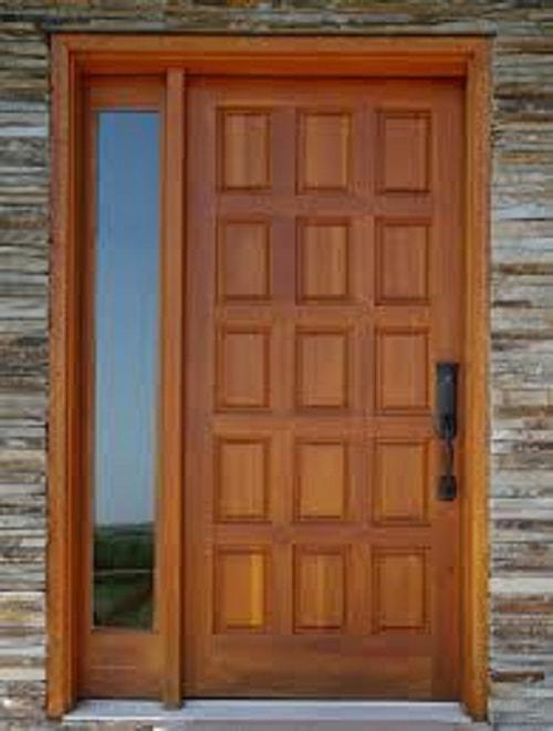 20 Desain Pintu Rumah Minimalis Dari Kayu Yang Wajib Anda Coba