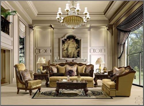 23 Desain Interior Ruang Keluarga Klasik Yang Artistik