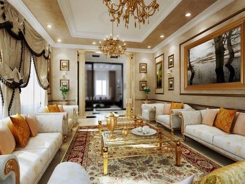 23+ Desain Interior Ruang Keluarga Klasik Yang Artistik