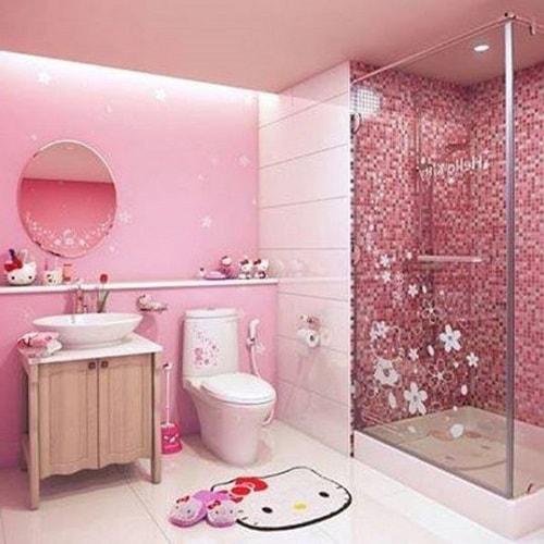 desain kamar mandi anak perempuan