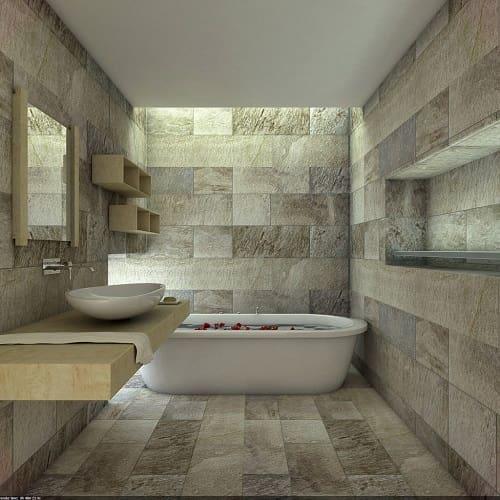 Gambar Desain Kamar Mandi Batu Alam Desain Model
