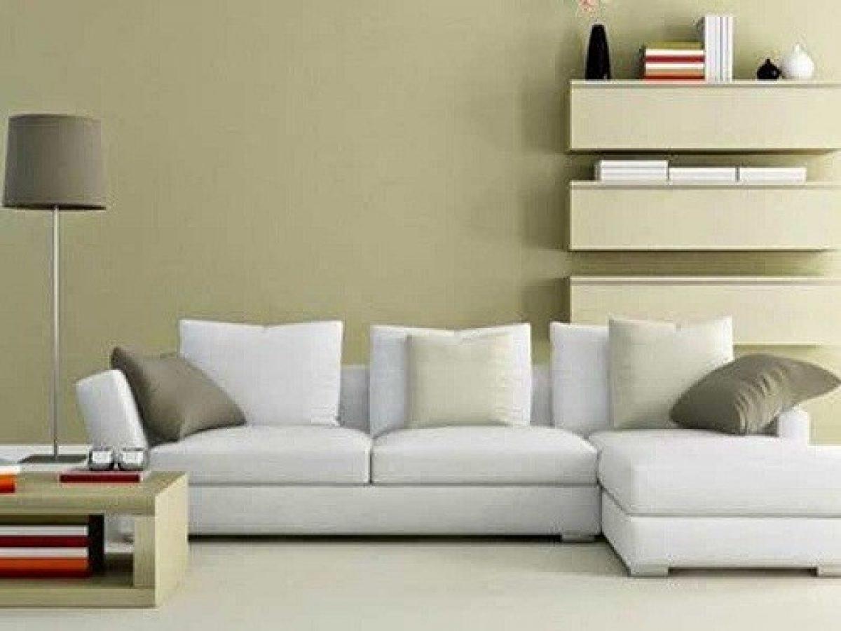 Warna  Cat  Ruang Tamu Nampak  Luas  Desainrumahid com