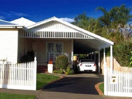 20 Desain Garasi Mobil Samping Rumah Minimalis