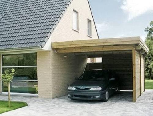 20+ Desain Garasi Mobil Samping Rumah Minimalis