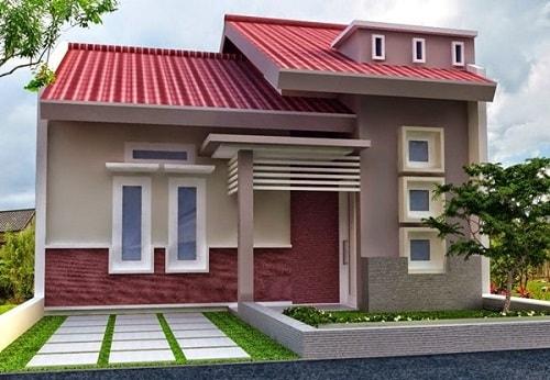 20 Desain Rumah Minimalis Bud 100 Juta Berikut Gambar