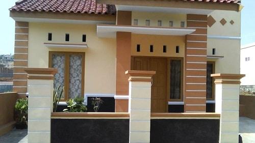 910 Gambar Tampak Depan Rumah Pintu Menyamping Gratis Terbaru