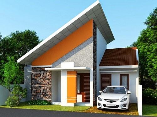 Desain Rumah Minimalis Luas 150m2  20 desain rumah minimalis budget 100 juta berikut gambar
