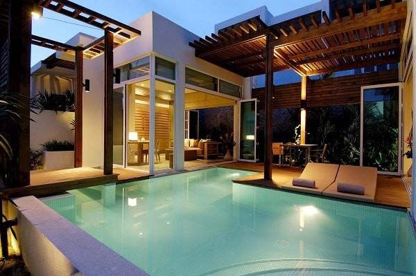 5000 Gambar Rumah Mewah Ada Kolam Renangnya HD Terbaru