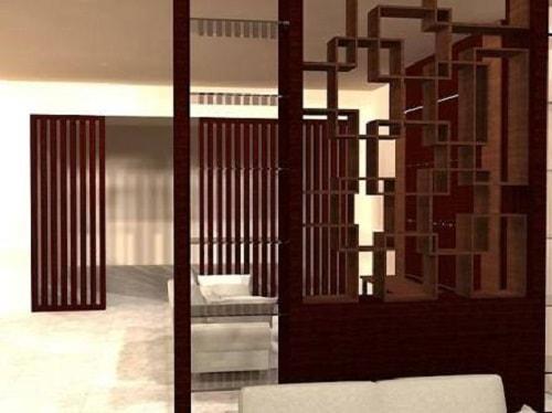 model penyekat ruangan