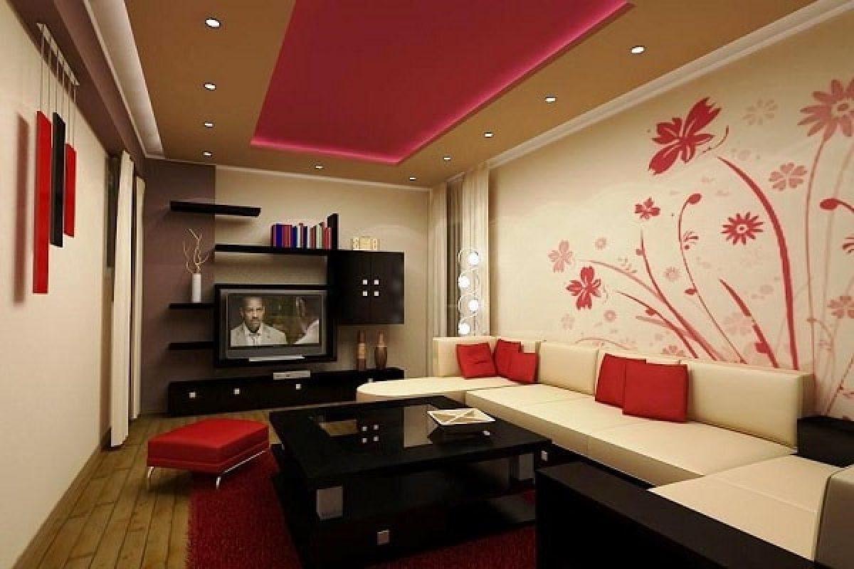 13 Motif Wallpaper Dinding Ruang Tamu Yang Bisa Anda