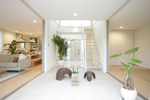 desain interior rumah semi modern ala korea