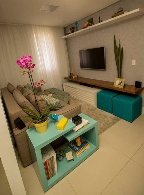 18 Model Ruang Keluarga Kecil Dengan Ukuran 2x3