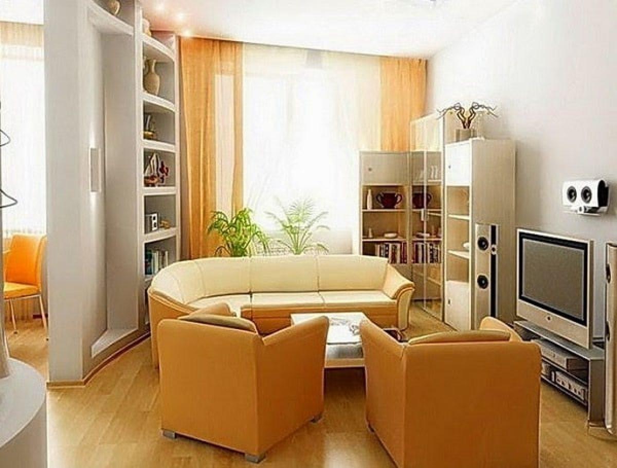 5+ Model Ruang Keluarga Kecil Dengan Ukuran 5x5