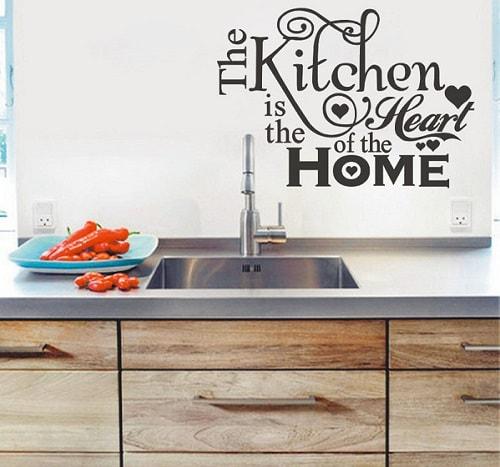 23 Motif Wall Sticker Untuk Dapur Ruang Makan