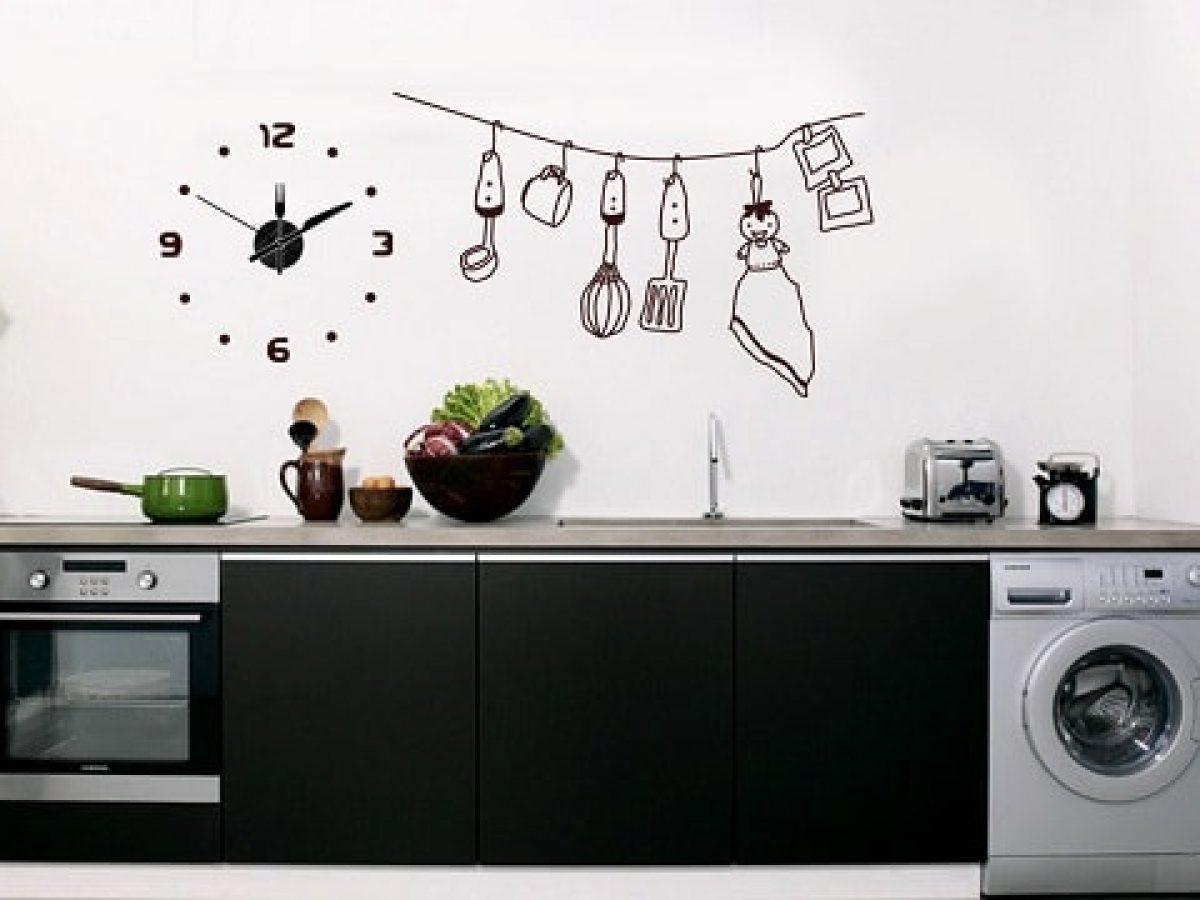 23 Motif Wall Sticker Untuk Dapur & Ruang Makan