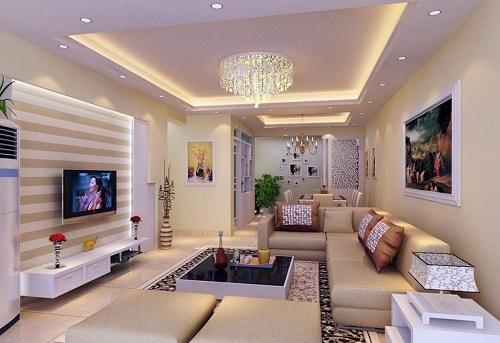 16 Model Plafon Klasik Ruang Tamu Yang Dapat Anda Pilih