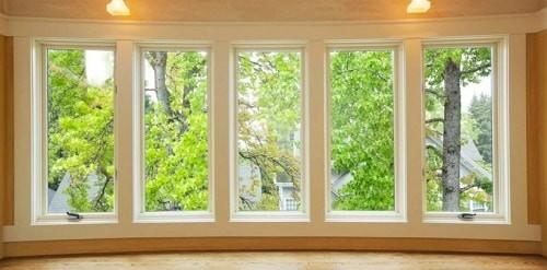 model jendela kaca besar