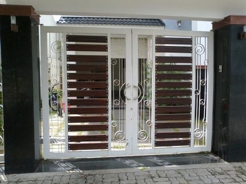 23 Model Pagar Besi Untuk Pintu Gerbang Dengan Desain Yang Menarik
