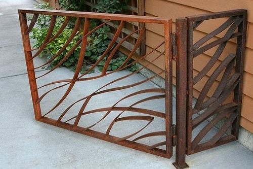 model pagar besi untuk pintu gerbang
