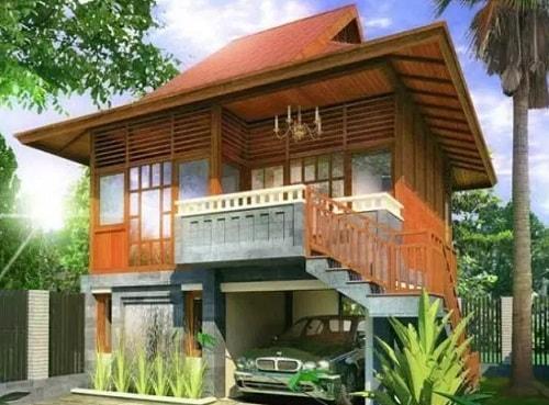 Desain Interior Rumah Panggung Minimalis  20 gambar desain rumah panggung unik agar terlihat elegan
