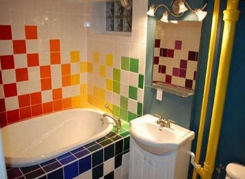 model keramik kamar mandi terbaru