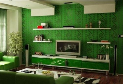 Kombinasi Warna Cat Rumah Hijau Tua  20 inspirasi cat rumah warna hijau untuk rumah anda