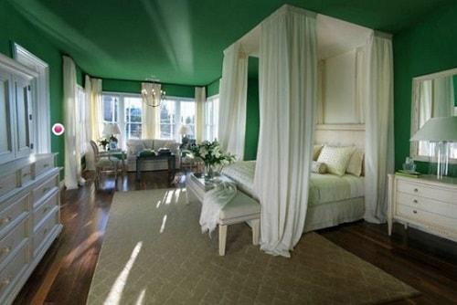 Kombinasi Warna Cat Rumah Hijau Tua  warna cat rumah minimalis hijau lumut 2020 rumah minimalis