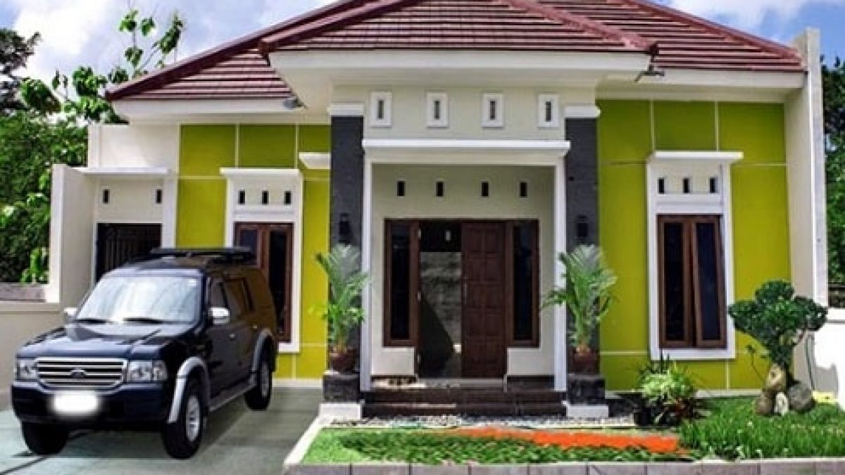 20 Inspirasi Cat Rumah Warna Hijau Untuk Rumah Anda