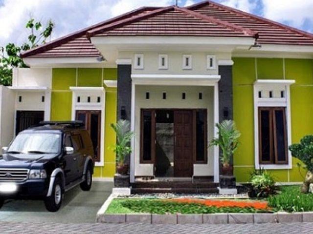 880 Gambar Rumah Minimalis Warna Tosca Gratis