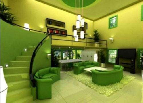 820 Koleksi Gambar Rumah Warna Tosca Terbaru