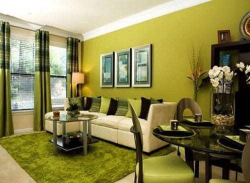 Kombinasi Warna Cat Rumah Kuning  20 inspirasi cat rumah warna hijau untuk rumah anda