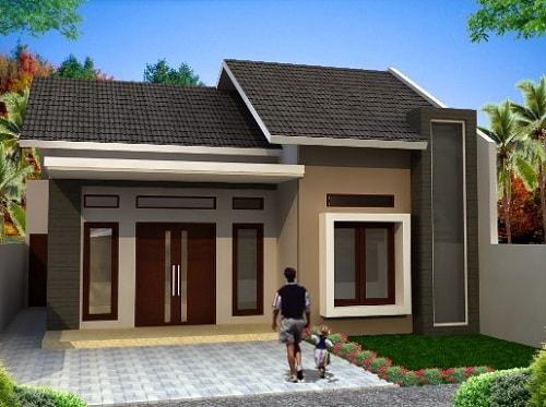 Desain Rumah Minimalis Ukuran 7x12 Meter  20 desain rumah minimalis dengan budget 50 juta yang bisa