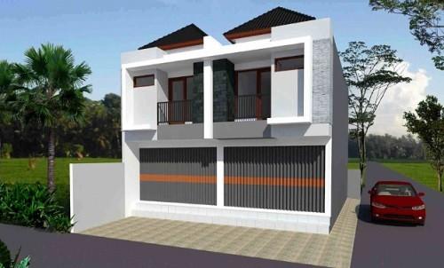 model rumah dengan toko