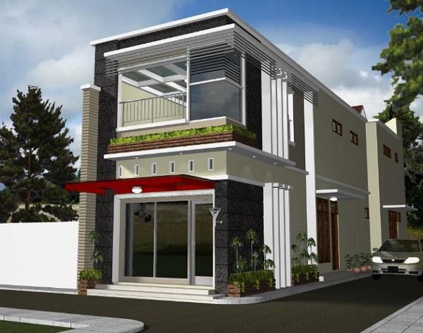 Desain Rumah Minimalis Ukuran 7x14  20 model rumah dengan toko dalam menunjang usaha anda