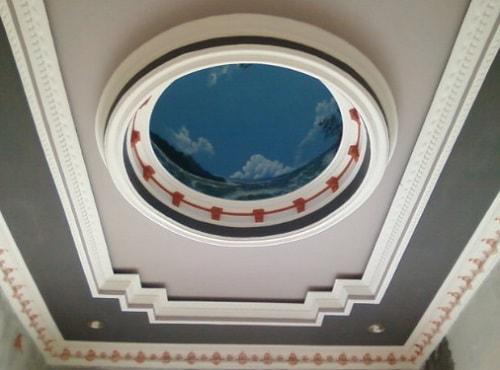 gambar plafon unik minimalis