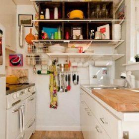 cara mengatur dapur kecil