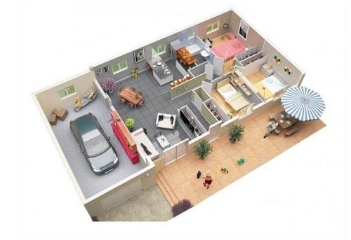 480+ Foto Desain Rumah Minimalis 3 Kamar Dan Garasi Yang Bisa Anda Contoh Unduh