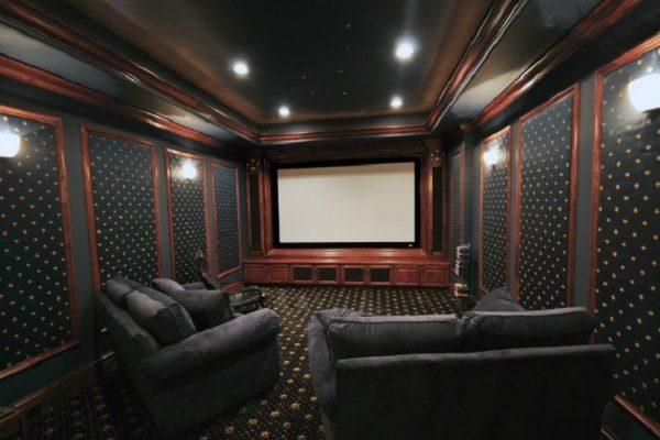 desain home theater minimalis