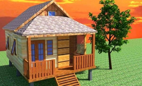 desain rumah adat sunda modern