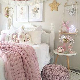 25+ inspirasi dekorasi kamar shabby chic yang cantik dan unik